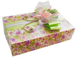 коробка для салюта из живых бабочек