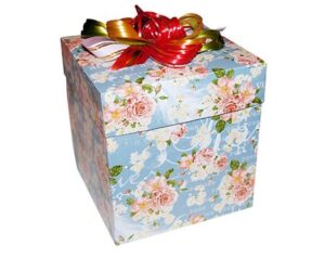 коробка для бабочек куб