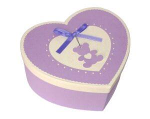 коробка-сердце для бабочек