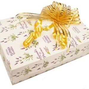 салютная коробка для бабочек лаванда