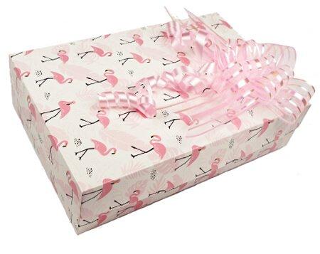 коробка для бабочек с фламинго