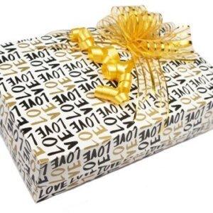коробка для салюта из бабочек Love